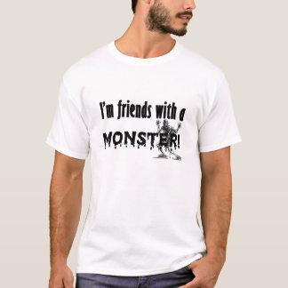 Ami de monstre - lumière t-shirt