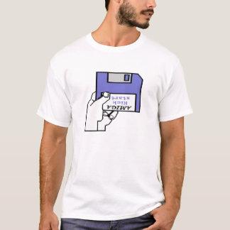 Amiga Kickstart das 1,0 und 1,1 Stiefel-Logo T-Shirt