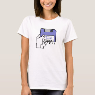 Amiga Kickstart das 1,2 Stiefel-Logo T-Shirt