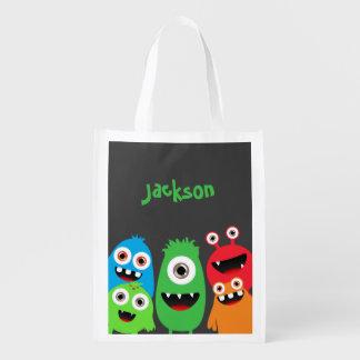 Amis de monstre sacs d'épicerie