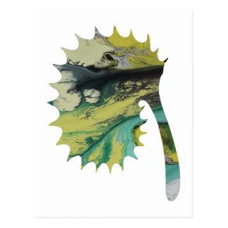 Ammonit Postkarte