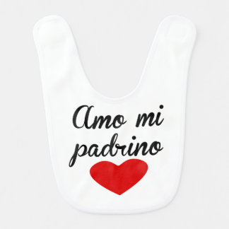 Amo MI Padrino Lätzchen