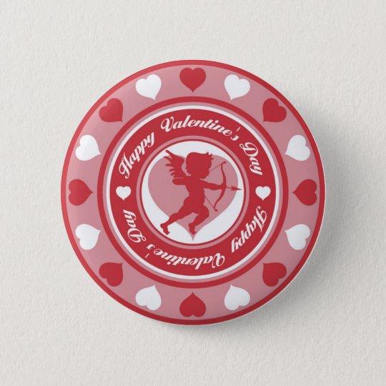 Amor in der Runde Runder Button 5,1 Cm