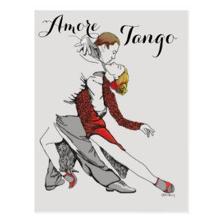 Amore Tango Postkarte
