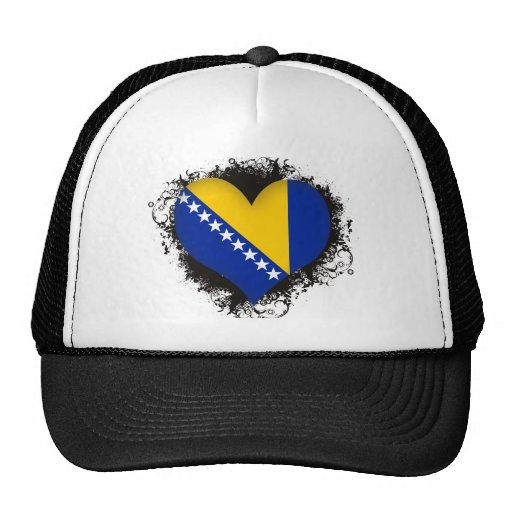 Amour Bosnie-Herzégovine du cru I Casquette De Camionneur