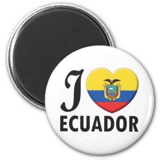 Amour de l'Equateur Magnet Rond 8 Cm