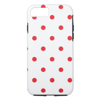 Amour de point de polka coque iPhone 7