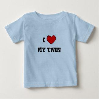 Amour d'enfant de mêmes parents t-shirt pour bébé