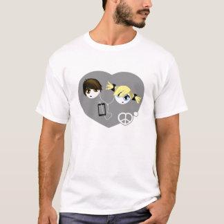 Amour Emo de paix T-shirt