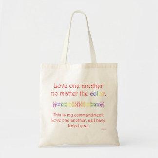 Amour un un autre (sac rouge) sac en toile budget