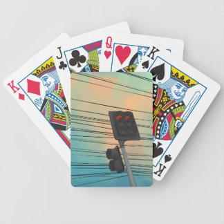 Ampel-Nachmittag Bicycle Spielkarten