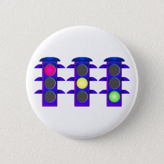 Ampel Runder Button 5,7 Cm