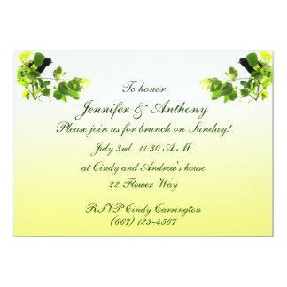 Amsel-Hochzeits-Brunch 12,7 X 17,8 Cm Einladungskarte