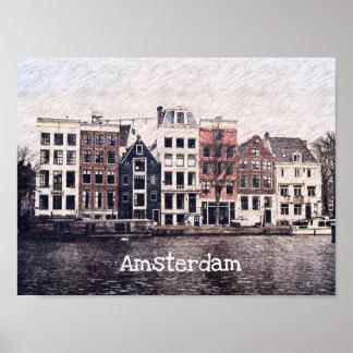 Amsterdam bringt Plakat unter