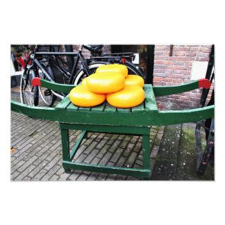 Amsterdam, die Niederlande, Käse, Geschäft, Fotodruck