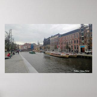 Amsterdam, die Niederlande Poster