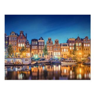 Amsterdam die niederländische Postkarte