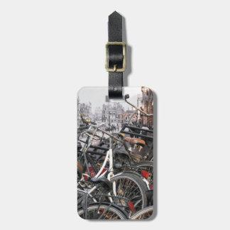 Amsterdam-Fahrräder Gepäckanhänger