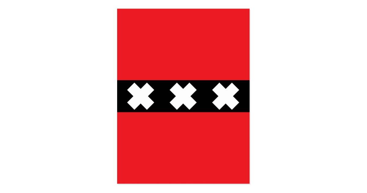 Amsterdam Flagge
