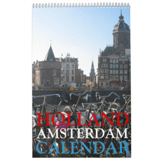 Amsterdam-Foto-Kalender Abreißkalender