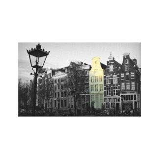 Amsterdam-Kanal - Keizersgracht - die Niederlande Leinwanddruck