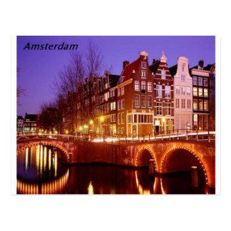 Amsterdam--Stadt der Lichter [kan.k]. Postkarte