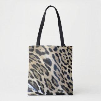 Amur-Leopard-Haut-Druck-Taschen-Tasche Tasche