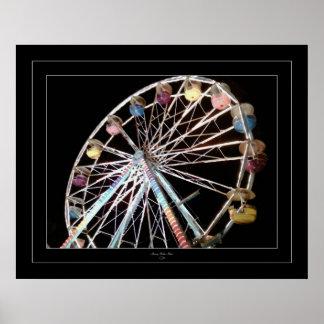 Amusement de roue de Ferris Posters