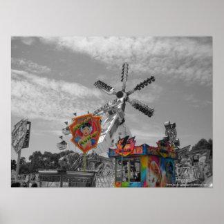 Amusement et jeux d'exposition de Melbourne - de Posters