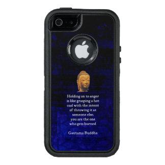 An halten, zum inspirierend Buddha-Zitats zu OtterBox iPhone 5/5s/SE Hülle
