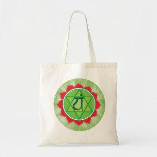 Anahata Herz Chakra Budget-Tasche Tragetasche