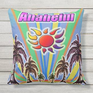 Anaheim-Sommer-Liebe-Kissen Kissen Für Draußen