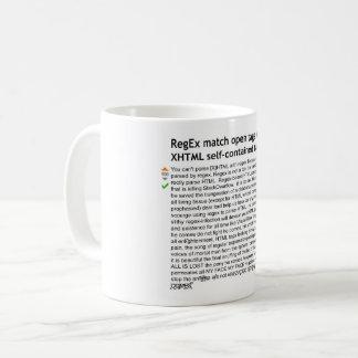 Analysieren Sie HTML mit Regex - Tony das Pony Kaffeetasse