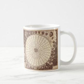 Anamorphic Wind-Rosen-Stich Kaffeetasse