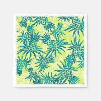 Ananas-Camouflage-hawaiisches tropisches Papierserviette