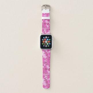Ananas-Camouflage-hawaiisches tropisches - Rosa Apple Watch Armband