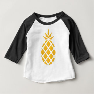 Ananas, Frucht, Logo, Nahrung, tropisch, Baby T-shirt