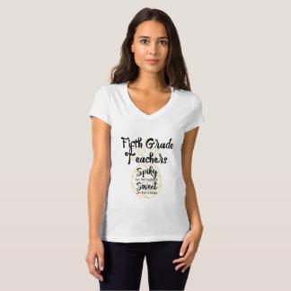 Ananas-fünfte 5. Grad-Lehrer T-Shirt