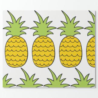 Ananas-Geschenk-Verpackung Geschenkpapier