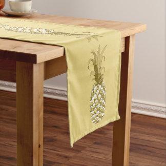 Ananas-Goldreihe ID239 Kurzer Tischläufer