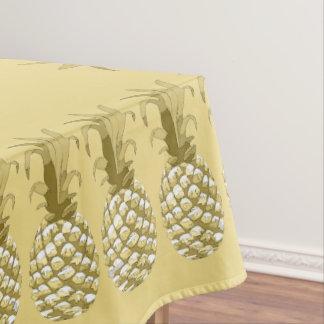 Ananas-Goldreihe ID239 Tischdecke