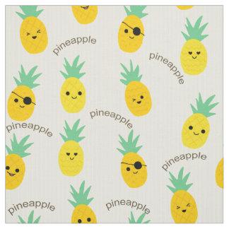 Ananas kapert tropischen Sommer Stoff