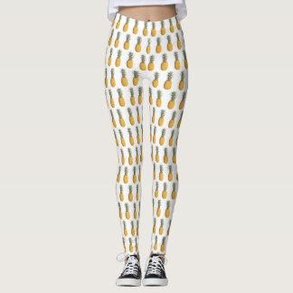 Ananas-Muster-Sommer-Gamaschen Leggings