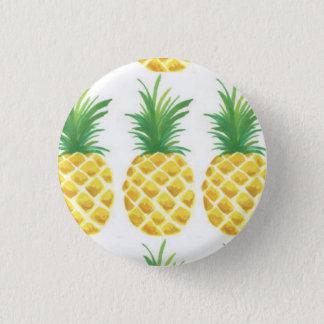 Ananas Runder Button 3,2 Cm