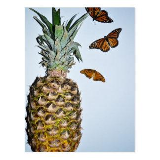 Ananas-Spaß Postkarte