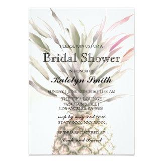 Ananas-Thema-Brautparty-Einladung 12,7 X 17,8 Cm Einladungskarte