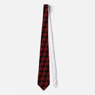 Anarchie Bedruckte Krawatten