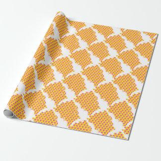 Anarchie-Muster Geschenkpapier