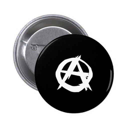 Anarchist, politische Flagge Kolumbiens Anstecknadel