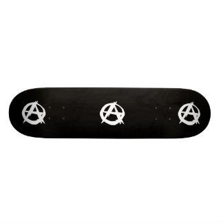 Anarchist, politische Flagge Kolumbiens Personalisiertes Skateboard